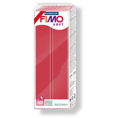 Fimo Soft 350 gr. - n. 26 rosso ciliegia
