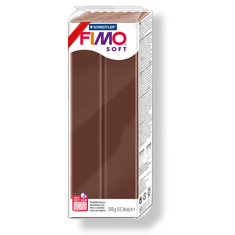 Fimo Soft 350 gr. - n.75 cioccolato