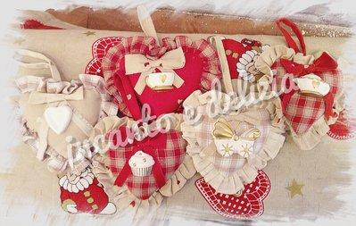 Cuoricini decorativi, profumatori armadi, bomboniere con gessetti