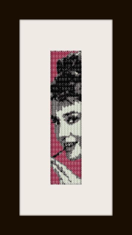 PDF schema bracciale Audrey 4 in stitch peyote pattern - solo per uso personale