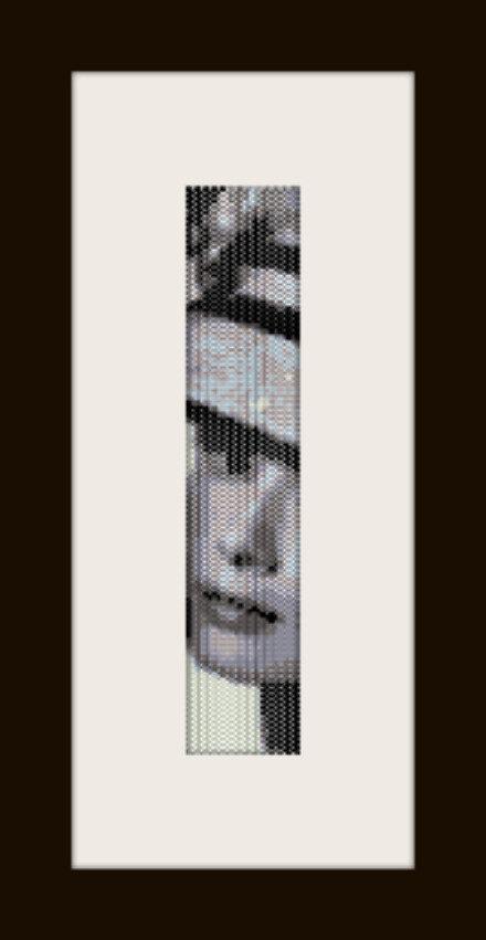 PDF schema bracciale Audrey 5 in stitch peyote pattern - solo per uso personale