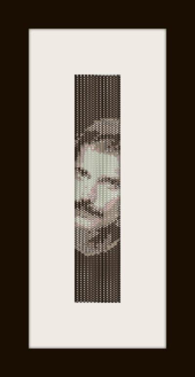 PDF schema bracciale Freddy M. in stitch peyote pattern - solo per uso personale