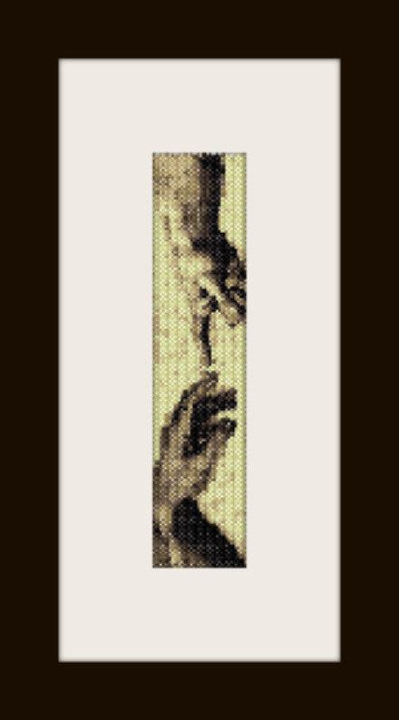 PDF schema bracciale Giudizio U. in stitch peyote pattern - solo per uso personale