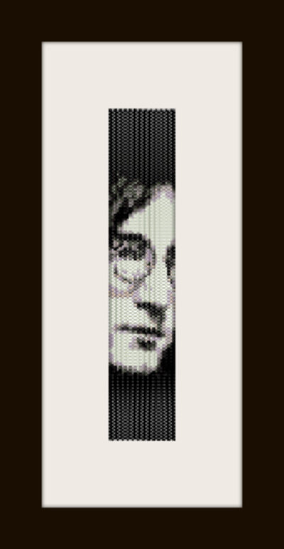 PDF schema bracciale J. Lenon in stitch peyote pattern - solo per uso personale