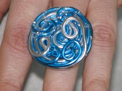 anelli  con filo alluminio