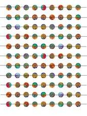 Alberi colorati 12 mm