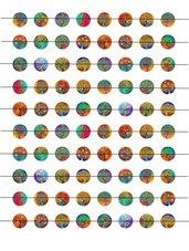 Alberi colorati 15 mm