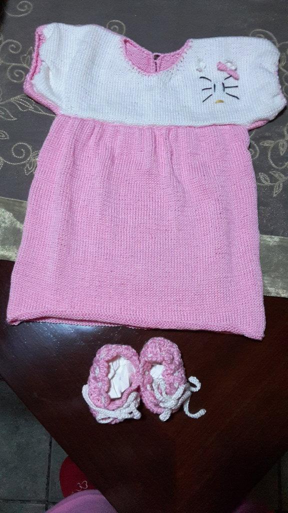 Vestitino e scarpine