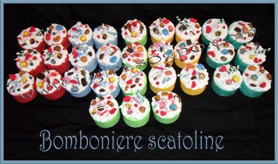 Bomboniera scatolina dolciosa, nascita, matrimonio, compleanno!!!! funcy sweet box