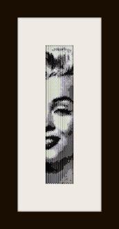 PDF schema bracciale Marilyn reg in stitch peyote pattern - solo per uso personale