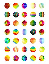 Cerchi arcobaleno 25 mm