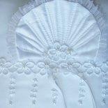 PORTAFEDI cuscino  nozze  quadrato  bianco 24 x 24,  cuscino x anelli, IN STOCK