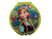 Specchietto da borsetta compatto make up Anna Frozen Disney PEZZO UNICO!