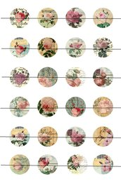 Rose vintage 18 mm
