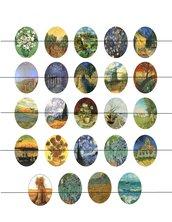 Van Gogh quadri 30x40 mm