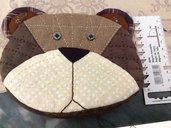 borsellino orsetto fatto a mano