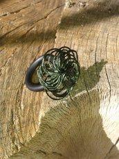 Anello caucciù verde