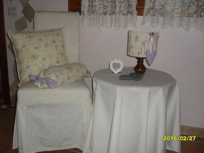 paralume cuscino e caramella fantasia rose