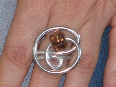 anelli wire e ceramica greca