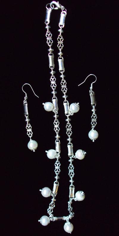 """Collana perle """"Perle nel fiume"""""""