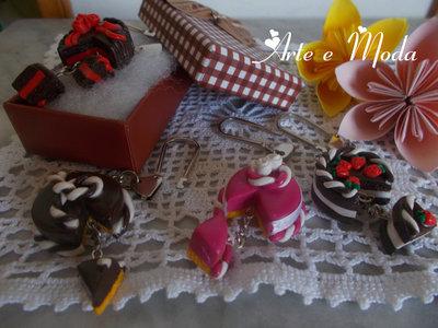 "Portachiavi "" mini tortine"""