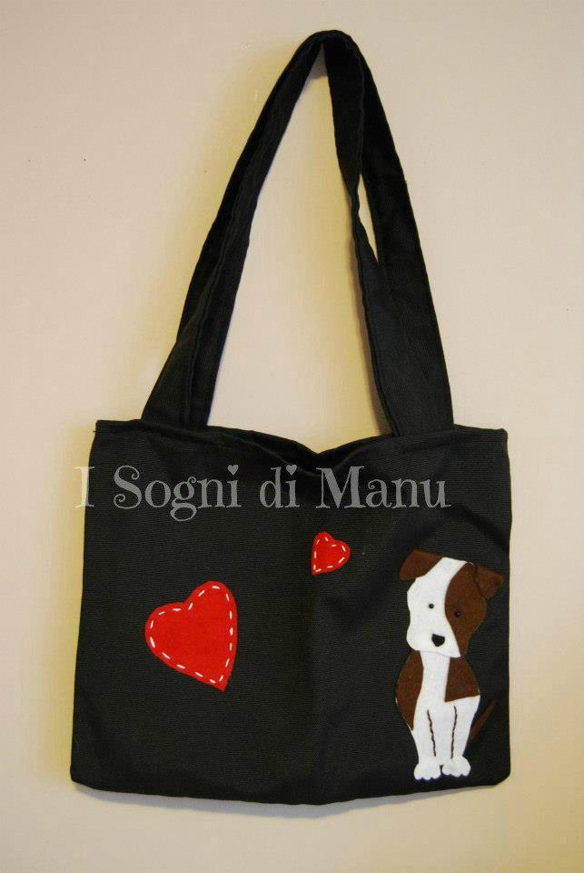Shopping bag Amstaff/Pitbull