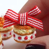 Shortcake Charm - con fiocco