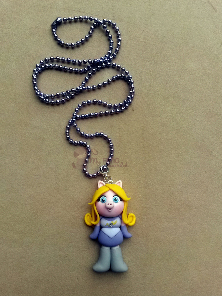 Collana con Miss Piggy from Pigs in Space