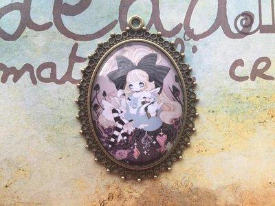 Cammeo Alice in Wonderland mod.03