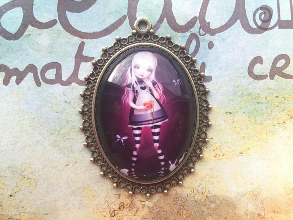 Cammeo Alice in Wonderland mod.04