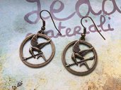 Orecchini Hunger Games bronzo