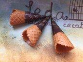 Cialda cono gelato in miniatura mod.01