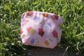 011 - Pochette Stoffa Americana - Pink Sweeties