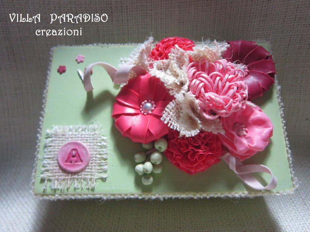 scatola con i fiori