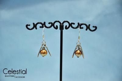 Orecchini boccino d'oro