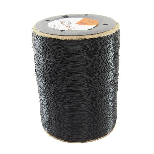 Bobina 1000 mt. Filo elastico nero mm. 0.8
