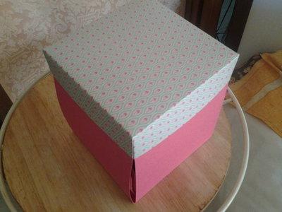 Box explotion girl