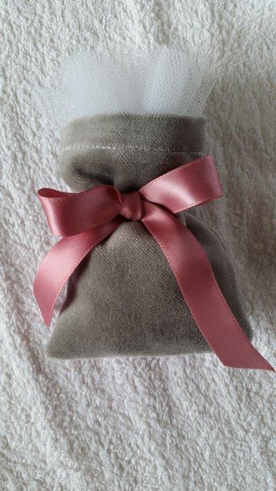 Elegante sacchetto bomboniera