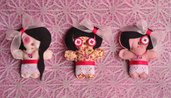 "Broche "" Sweetdolls"""