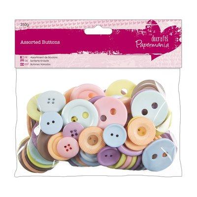 Mix 250 gr bottoni - Pastels