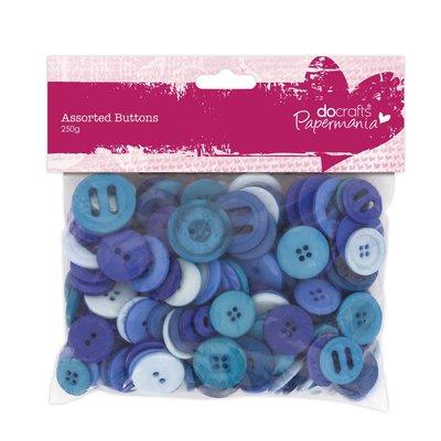 Mix 250 gr bottoni - Blu
