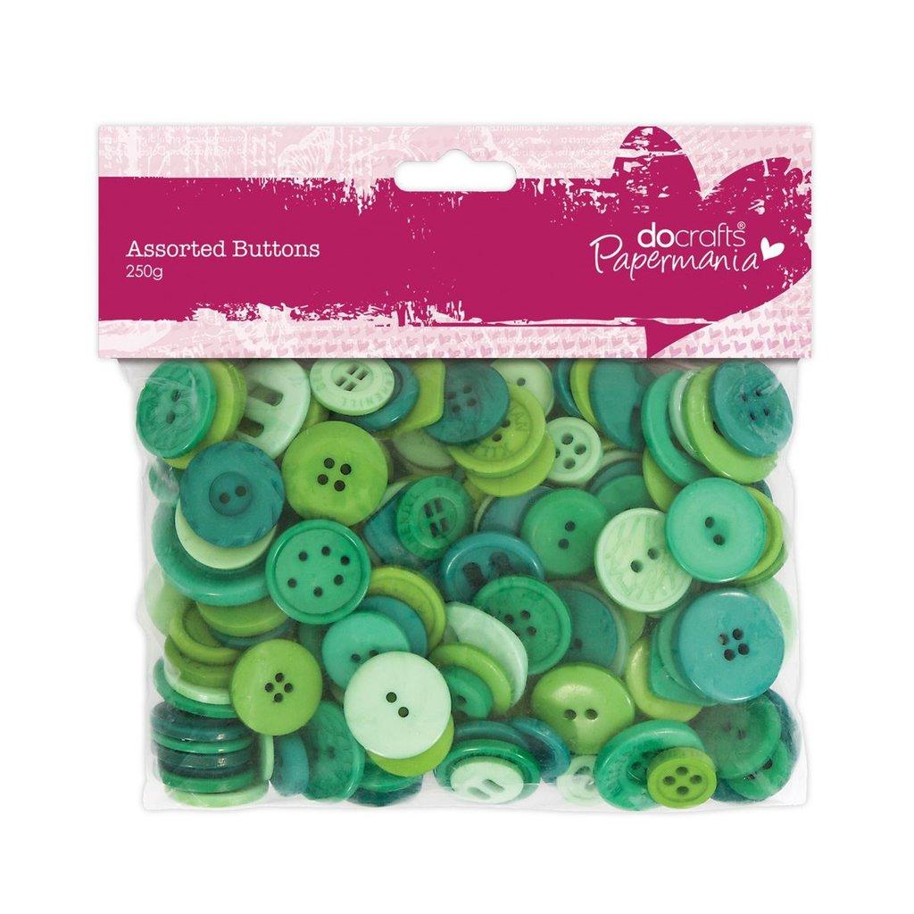 Mix 250 gr bottoni - Verde