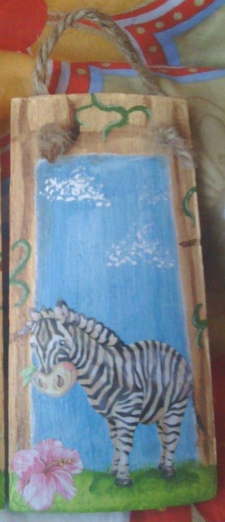 """Tegola """"zebra"""""""