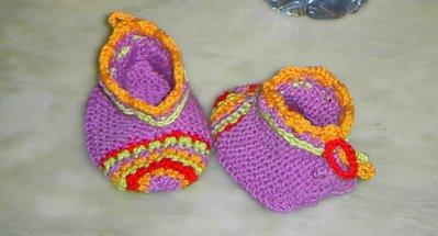 Scarpette allegre da neonata