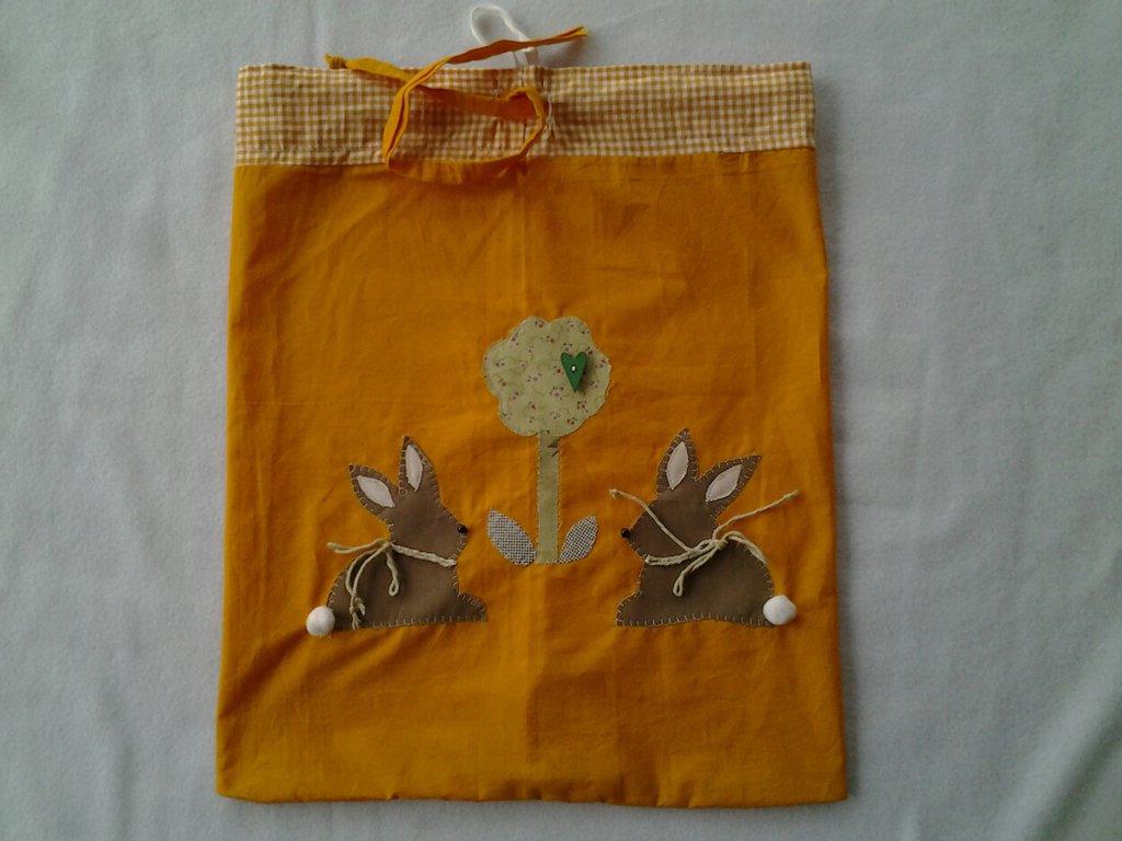Sacchetto in tessuto portaoggetti