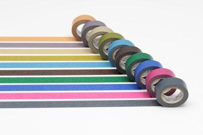 Washi Tape - Dark Color 2