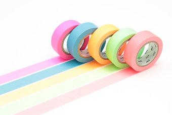 Washi Tape - Gift Box Neon