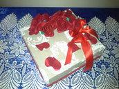 elegante scatola regalo