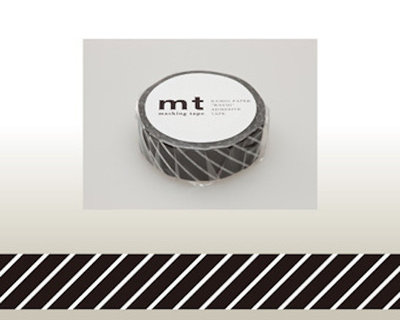 Washi Tape - Stripe black