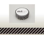 Washi Tape - Stripe black
